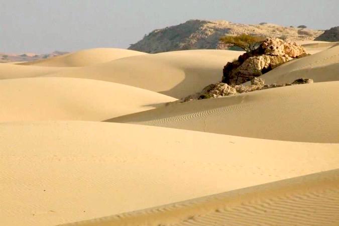 Désert Blanc à Oman