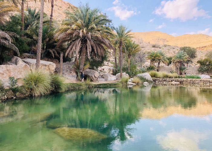 Wadi au Sultanat d'Oman