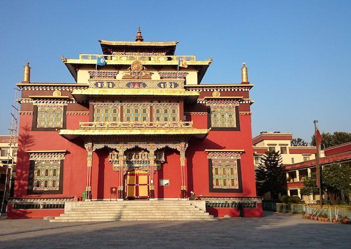 Monastère au Népal