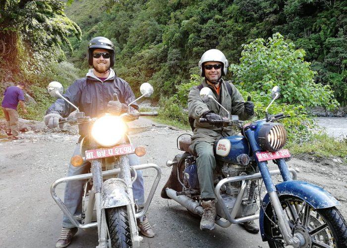 Roadtrip moto Népal